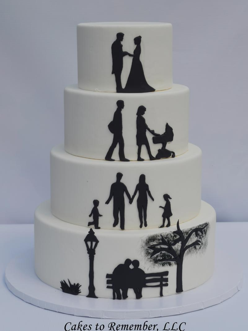 Cakes To Remember Faux Wedding Cakes